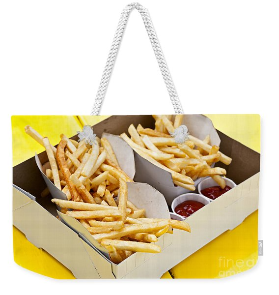 French Fries In Box Weekender Tote Bag