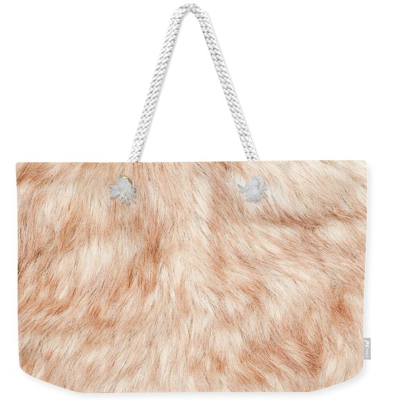 Fur Background Weekender Tote Bag