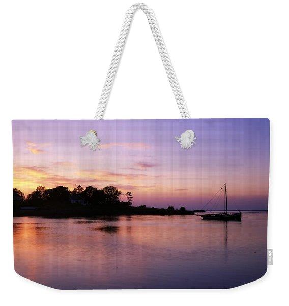 Galway Bay, Co Galway, Ireland Sunset Weekender Tote Bag
