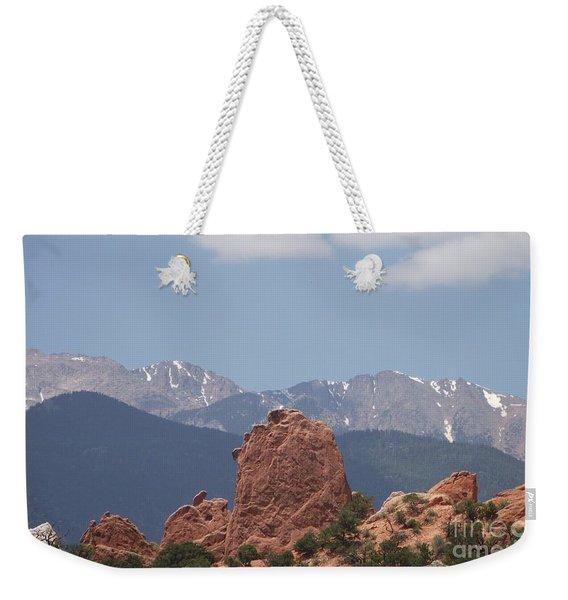 Garden Of The Gods Weekender Tote Bag