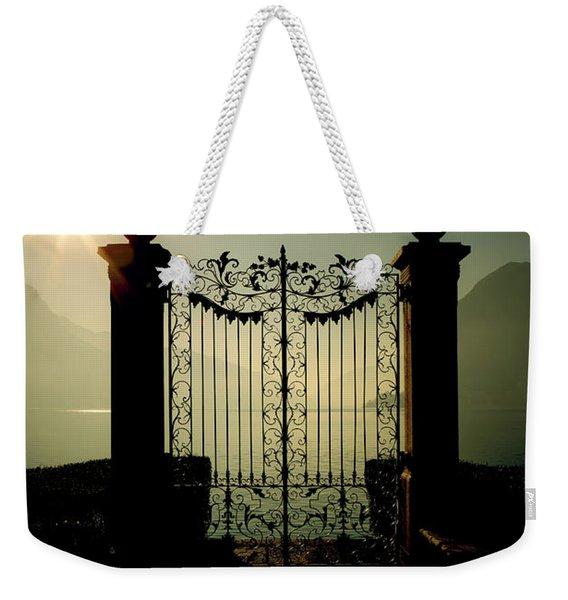 Gateway To The Lake Weekender Tote Bag