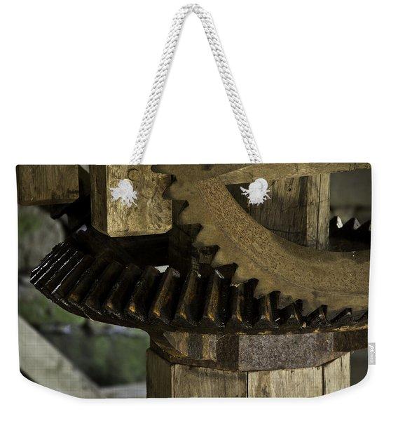 Geared Up Weekender Tote Bag