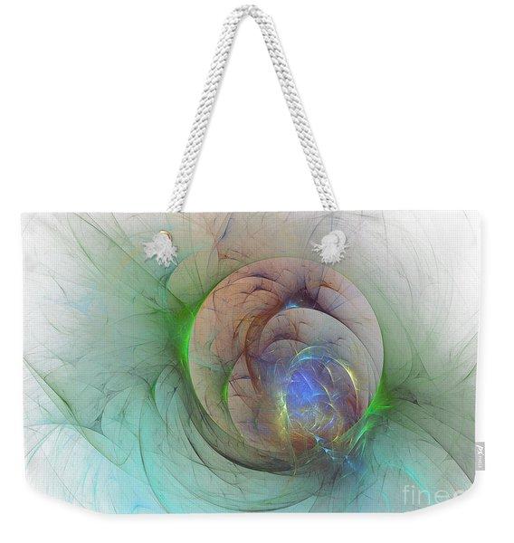 Gentle Trance Weekender Tote Bag