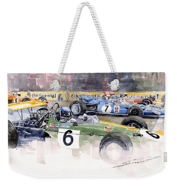 Germany Gp Nurburgring 1969 Weekender Tote Bag