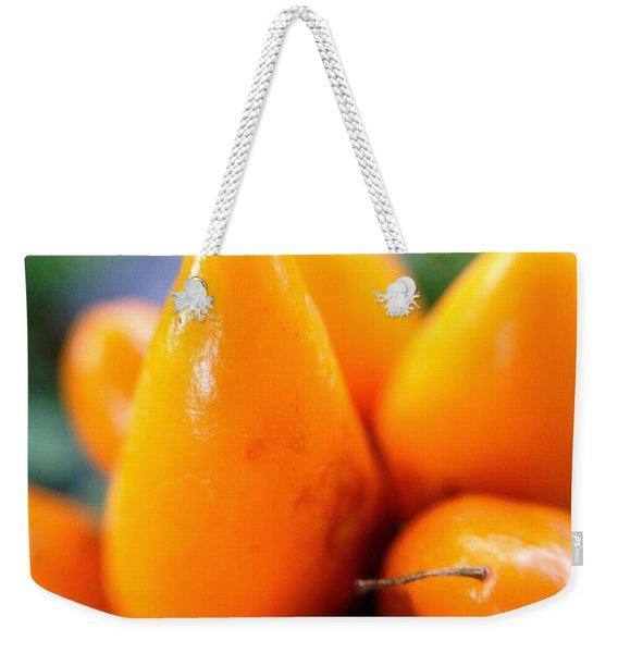 Ghost In The Pepper Weekender Tote Bag