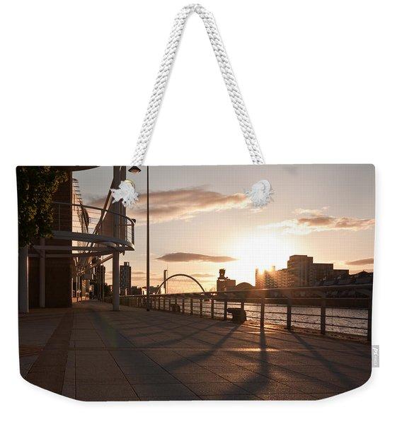 Glasgow Promenade Weekender Tote Bag