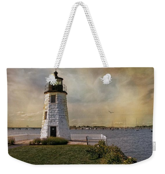 Goat Island Light Weekender Tote Bag