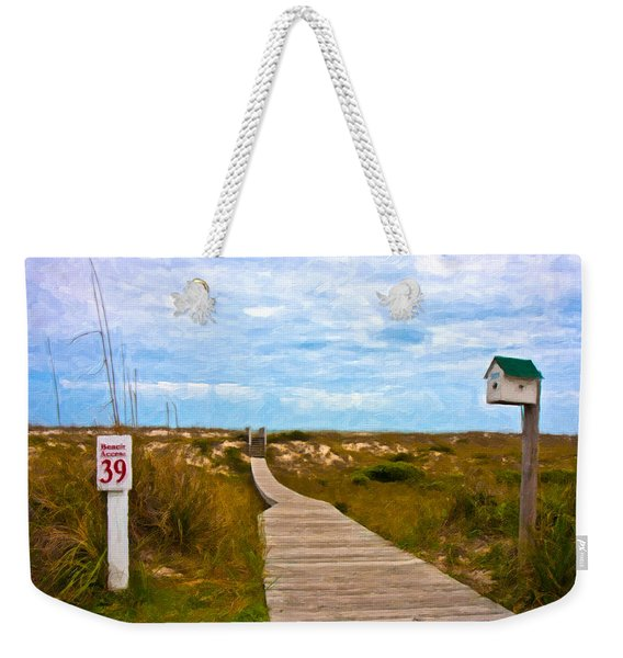 Going To The Beach Weekender Tote Bag