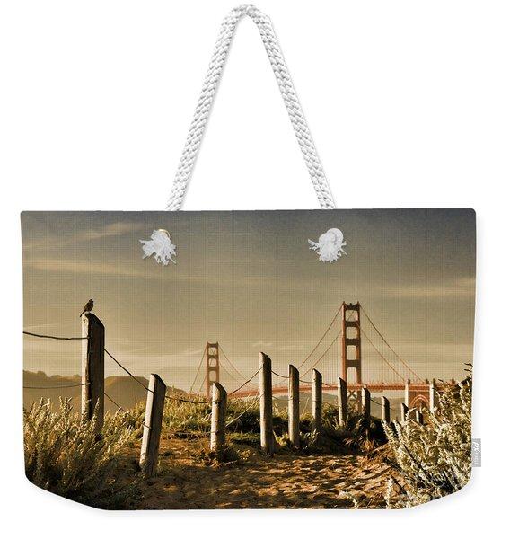 Golden Gate Bridge - 3 Weekender Tote Bag