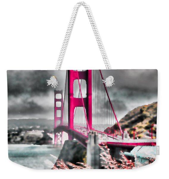 Golden Gate Bridge - 5 Weekender Tote Bag