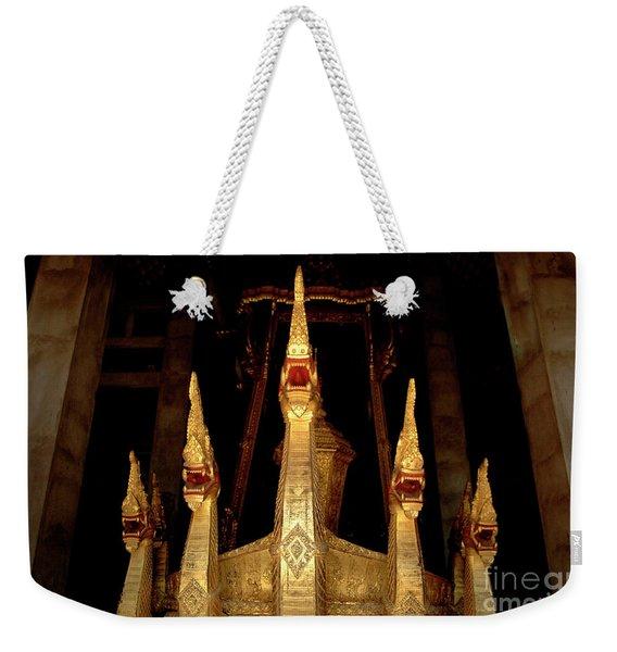 Golden Litter Weekender Tote Bag