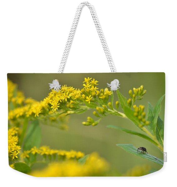 Golden Perch Weekender Tote Bag