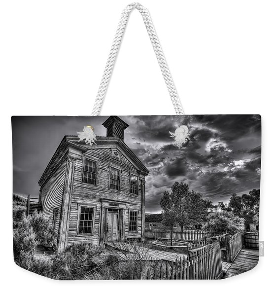 Gothic Masonic Temple - Bannack Ghost Town Weekender Tote Bag