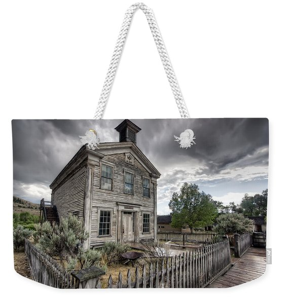 Gothic Masonic Temple 2 - Bannack Ghost Town Weekender Tote Bag