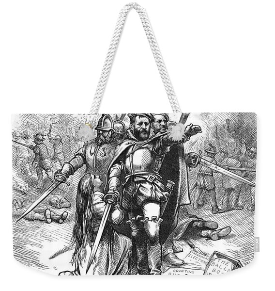 Grant Cartoon, 1874 Weekender Tote Bag