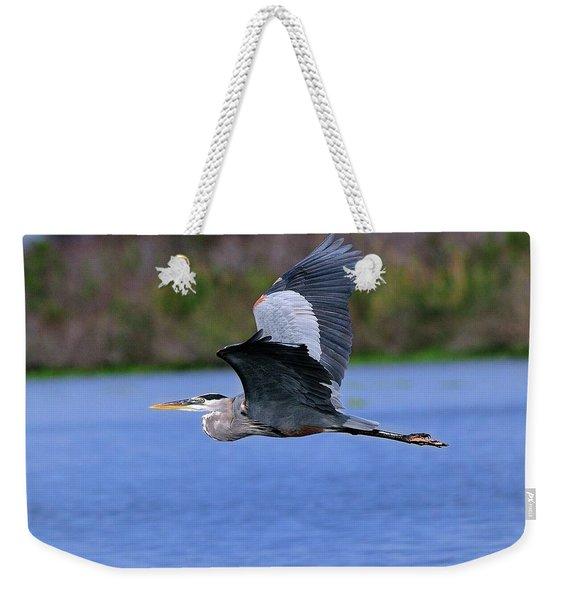 Great Blue Inflight Weekender Tote Bag