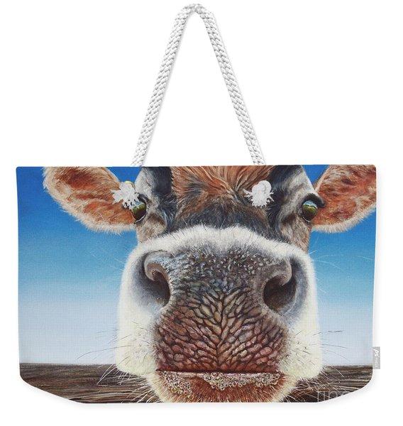 Greener Pastures Weekender Tote Bag