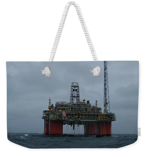 Grey Day At Snorre Weekender Tote Bag