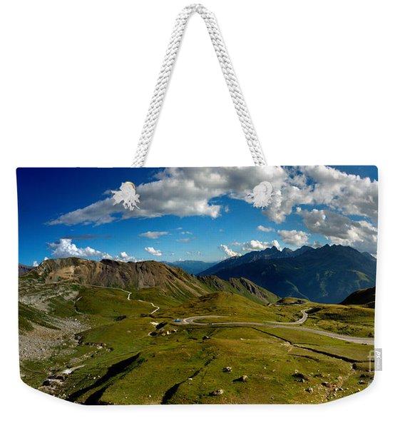 Grossglockner High Alpine Road Weekender Tote Bag