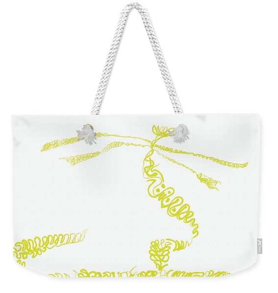 Ground Frond Weekender Tote Bag