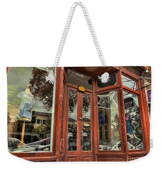 Halloween Storefront - Shepherdstown Wv Weekender Tote Bag