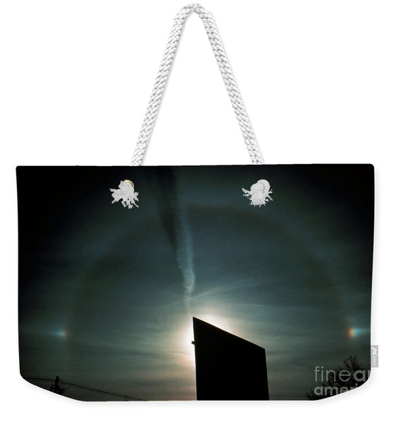 Halo With Sun Dog Weekender Tote Bag