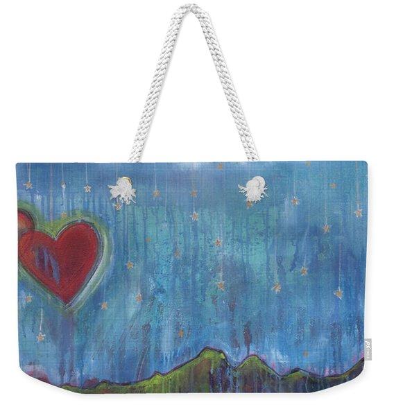 Hang Among The Stars Weekender Tote Bag