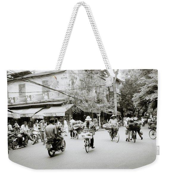 Hanoi Weekender Tote Bag