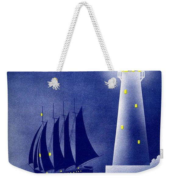 Harbor Lights Weekender Tote Bag