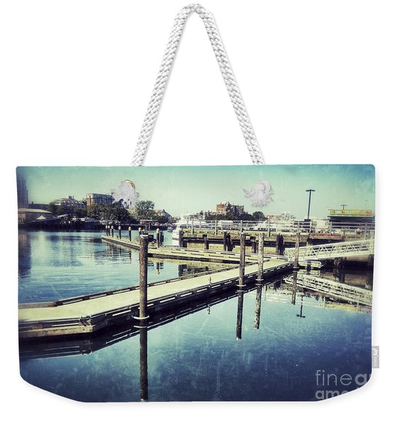 Harbor Time Weekender Tote Bag