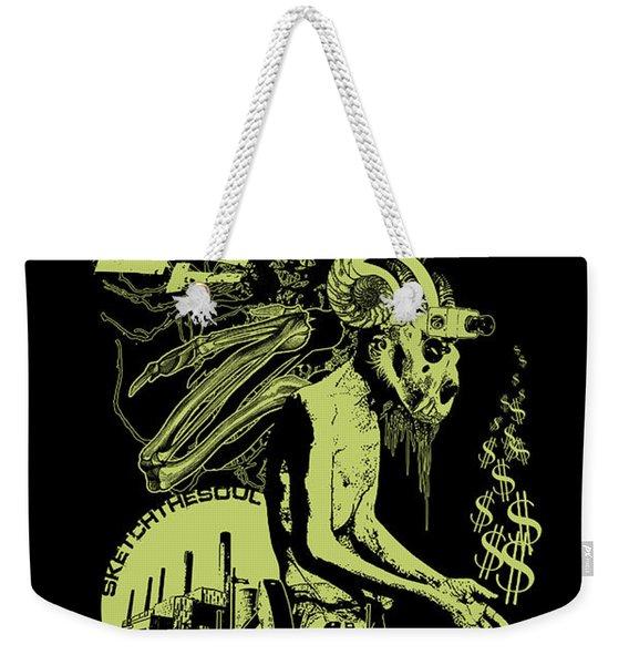 Harboring This Plague Weekender Tote Bag