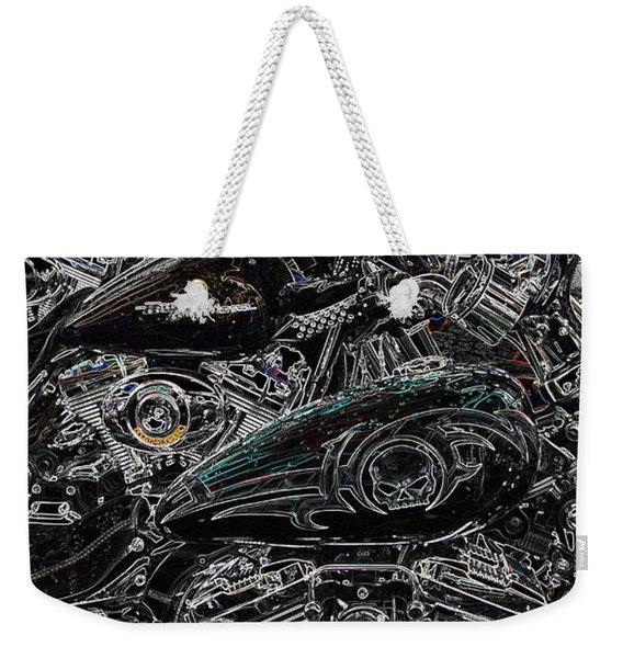 Harley Davidson Style 2 Weekender Tote Bag