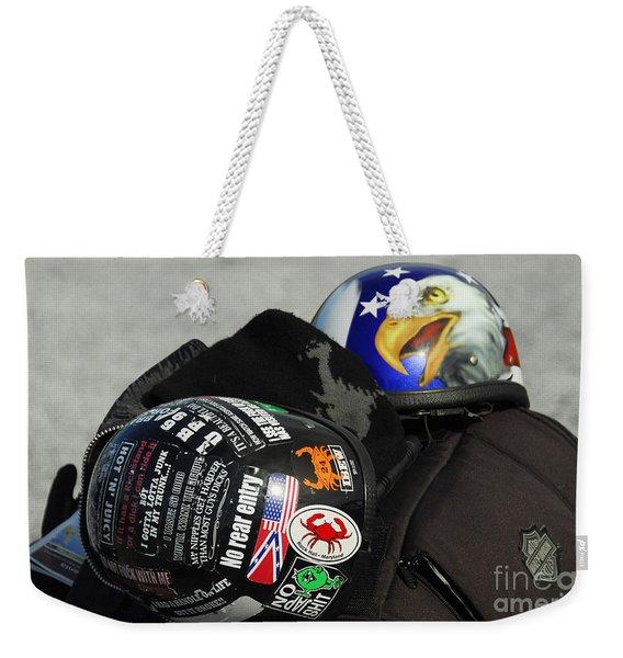 Harley Helmets Weekender Tote Bag