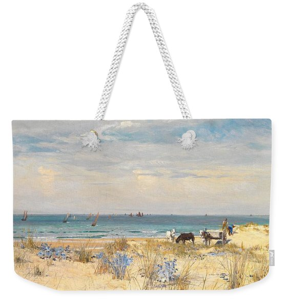Harvesting The Land And The Sea Weekender Tote Bag