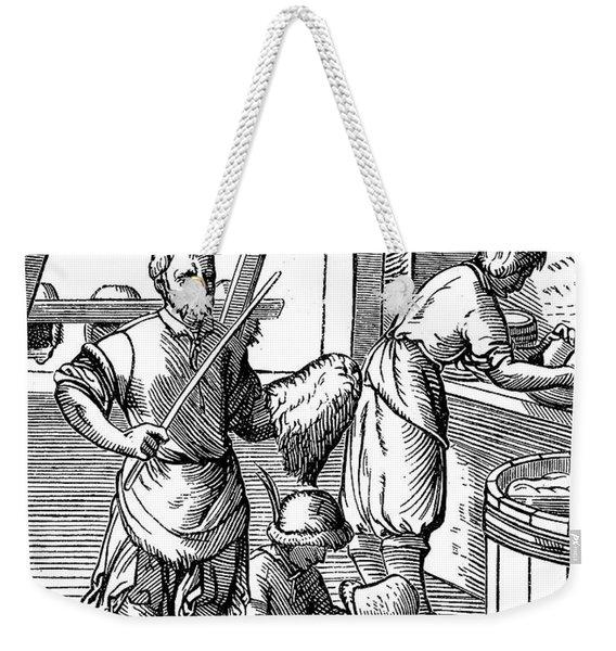 Hatters, 16th Century Weekender Tote Bag