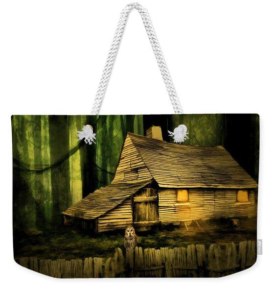 Haunted Shack Weekender Tote Bag