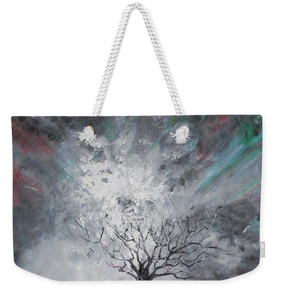 Haunted Tree Weekender Tote Bag