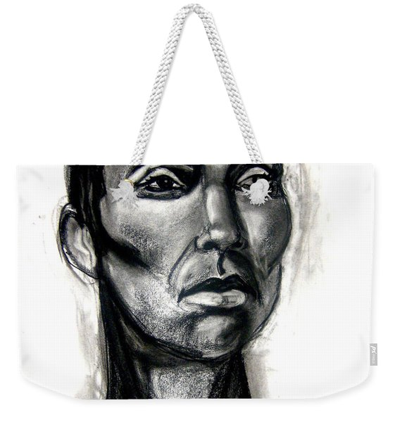 Head Study Weekender Tote Bag