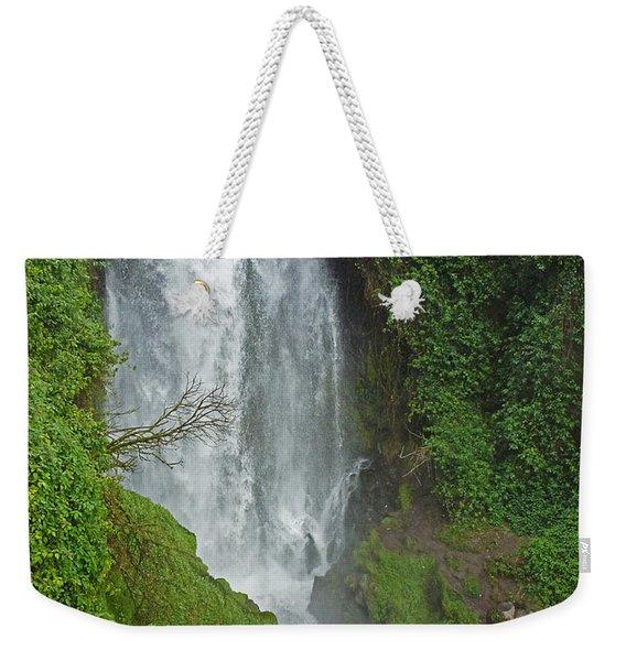 Headwaters Peguche Falls Ecuador Weekender Tote Bag