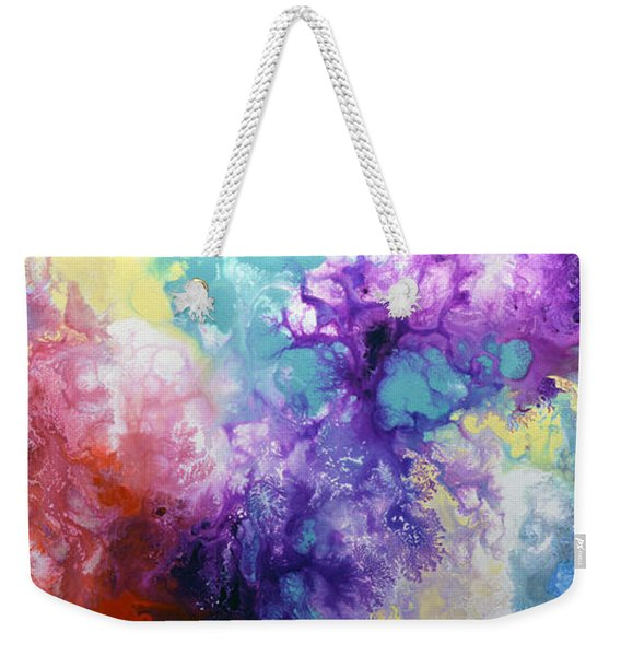 Healing Energies Weekender Tote Bag
