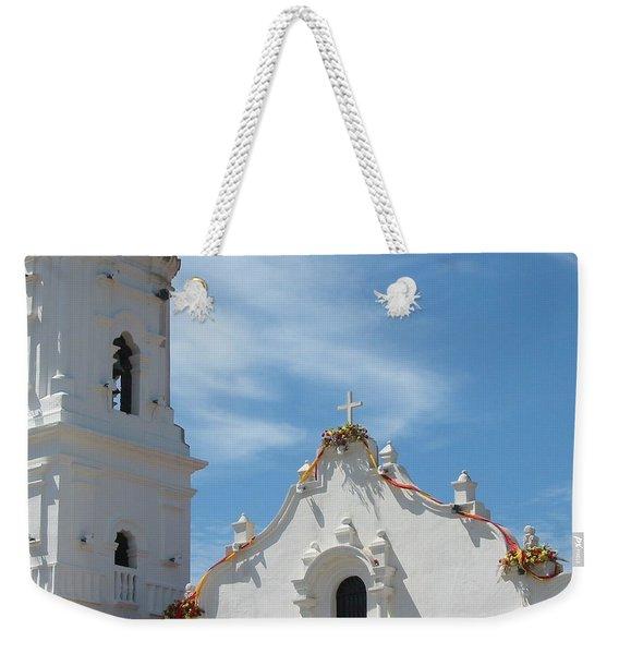Heavenly Roofline Weekender Tote Bag