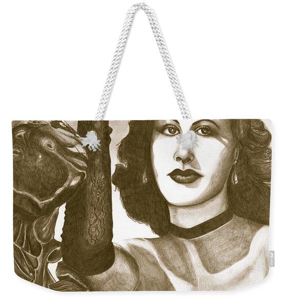Heddy Lamar Weekender Tote Bag
