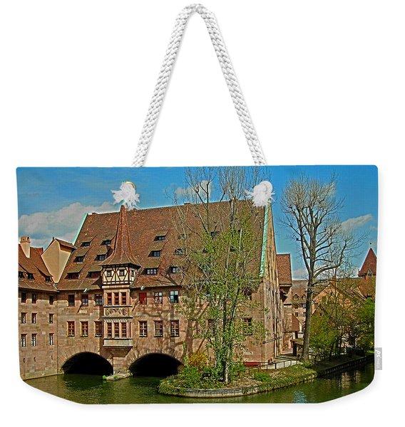 Heilig-geist-spital In Nuremberg Weekender Tote Bag