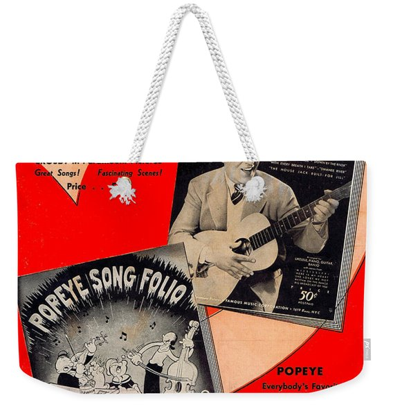 Here They Are Weekender Tote Bag