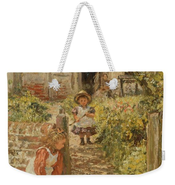 Hide And Seek Weekender Tote Bag