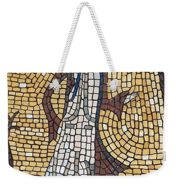 Weekender Tote Bag featuring the painting High Fashion by Cynthia Amaral