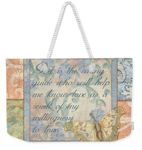 Hint Of Spring Butterfly 1 Weekender Tote Bag
