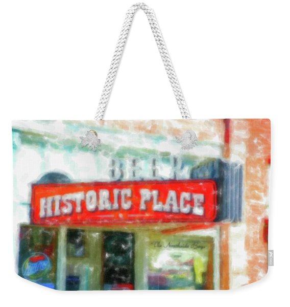 Historic Place Ogden Utah Weekender Tote Bag