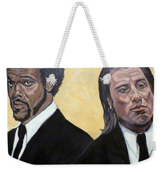 Hit Men Weekender Tote Bag