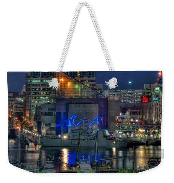Hmcs Goose Bay Weekender Tote Bag